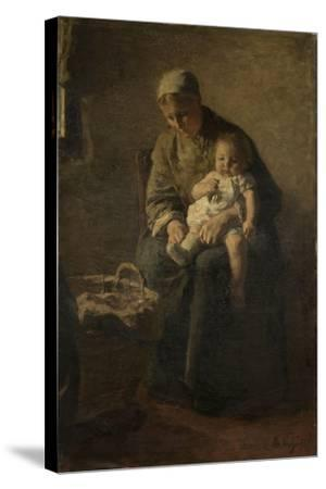 Mother and Child-Albert Neuhuys-Stretched Canvas Print