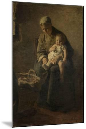 Mother and Child-Albert Neuhuys-Mounted Art Print