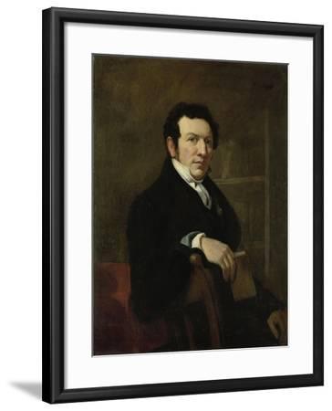 Portrait of Anthonie Van Der Hout-Christiaan Julius Lodewijk Portman-Framed Art Print