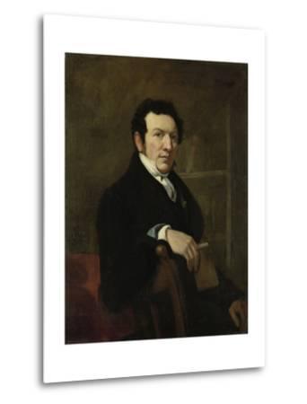Portrait of Anthonie Van Der Hout-Christiaan Julius Lodewijk Portman-Metal Print