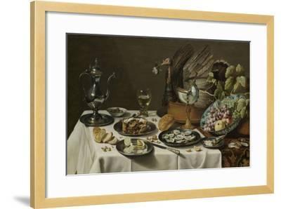 b0e3e0eb6b Still Life with a Turkey Pie-Pieter Claesz-Framed Art Print
