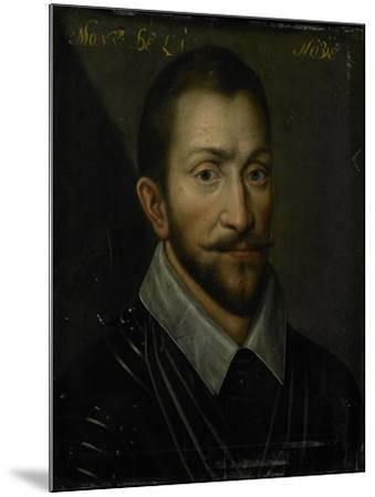Portrait of Francois De La Noue, Seigneur De Teligny, Surnamed Bras De Fer and Le Bayard Huguenot--Mounted Art Print