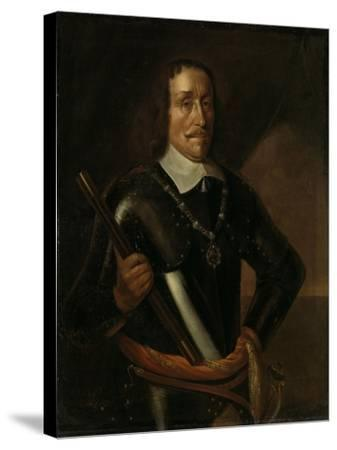 Portrait of Witte Cornelisz De With, Vice-Admiral of Holland and West-Friesland-Hendrick Martensz Sorgh-Stretched Canvas Print