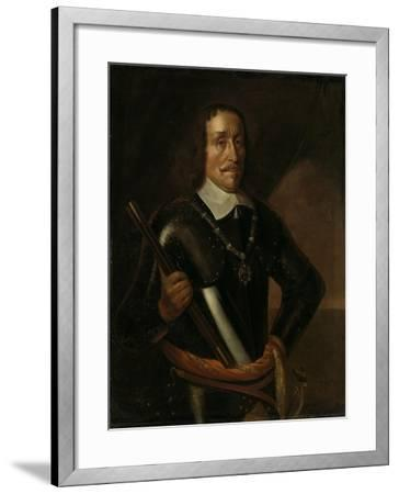Portrait of Witte Cornelisz De With, Vice-Admiral of Holland and West-Friesland-Hendrick Martensz Sorgh-Framed Art Print