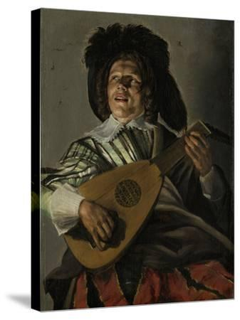 Serenade-Judith Leyster-Stretched Canvas Print