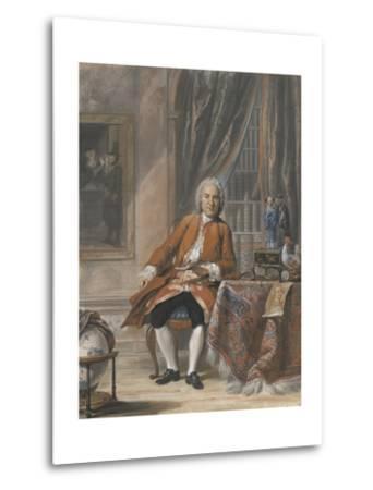 Portrait of Joan Jacob Mauricius, Governor-General of Suriname-Cornelis Troost-Metal Print