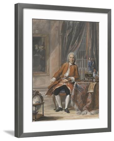 Portrait of Joan Jacob Mauricius, Governor-General of Suriname-Cornelis Troost-Framed Art Print