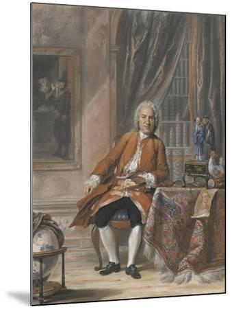 Portrait of Joan Jacob Mauricius, Governor-General of Suriname-Cornelis Troost-Mounted Art Print