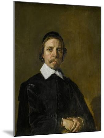 Portrait of a Man, Possibly a Preacher, Frans Hals.-Frans Hals-Mounted Art Print