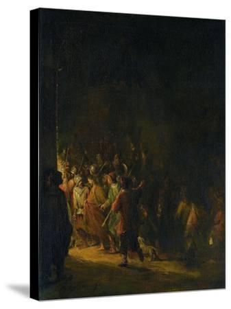 Christ Taken Prisoner (Betrayal of Christ)-Aert de Gelder-Stretched Canvas Print