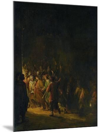 Christ Taken Prisoner (Betrayal of Christ)-Aert de Gelder-Mounted Art Print