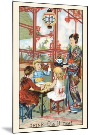 Drink O and O Tea!--Mounted Art Print