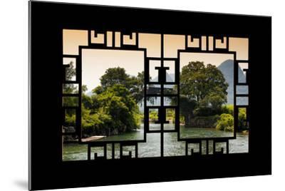 China 10MKm2 Collection - Asian Window - Guilin Yangshuo Bridge-Philippe Hugonnard-Mounted Photographic Print