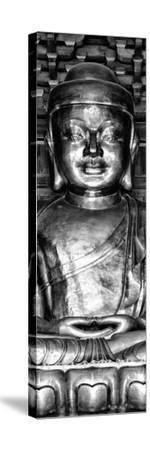 China 10MKm2 Collection - Gold Buddha-Philippe Hugonnard-Stretched Canvas Print