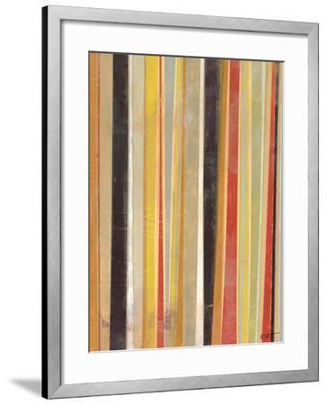 Jubilant Stripes II-Norman Wyatt Jr^-Framed Art Print