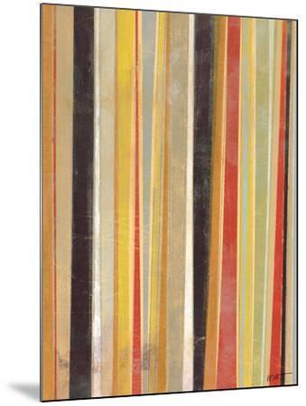 Jubilant Stripes II-Norman Wyatt Jr^-Mounted Art Print