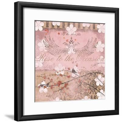 Haute in Pink II-Evelia Designs-Framed Art Print