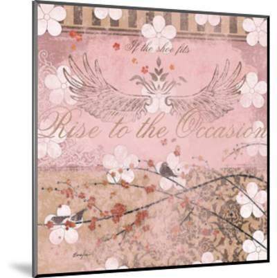 Haute in Pink II-Evelia Designs-Mounted Art Print