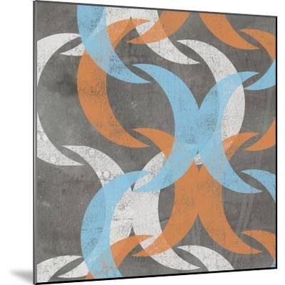 Graphic Wave I-Jennifer Goldberger-Mounted Art Print