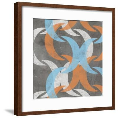 Graphic Wave I-Jennifer Goldberger-Framed Art Print