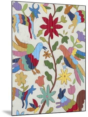 Otomi Embroidery I-Chariklia Zarris-Mounted Art Print
