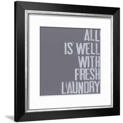 Fresh Laundry I-Deborah Velasquez-Framed Art Print