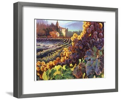 Tuscany Harvest-Clif Hadfield-Framed Art Print