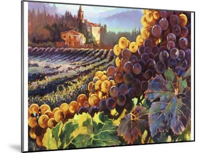 Tuscany Harvest-Clif Hadfield-Mounted Art Print