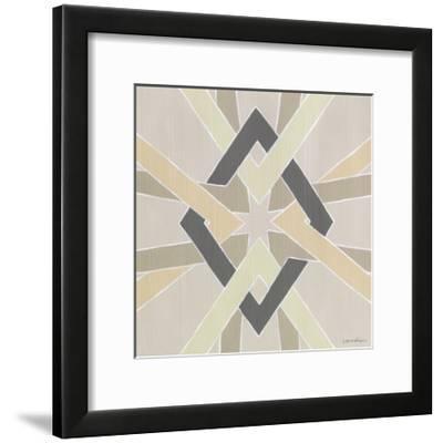 Non-Embellished Deco Stitch III-Vanna Lam-Framed Art Print