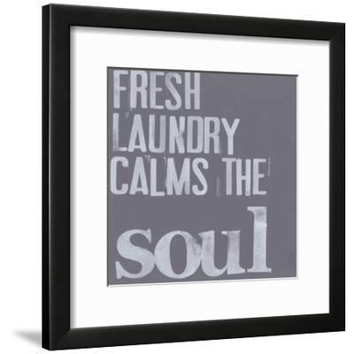Fresh Laundry II-Deborah Velasquez-Framed Art Print