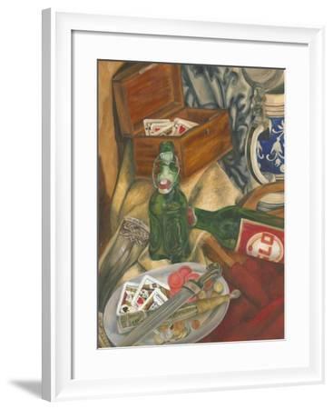 Beer Indulgences I-Jennifer Goldberger-Framed Art Print