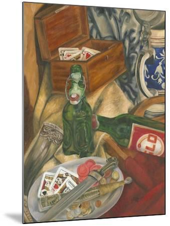 Beer Indulgences I-Jennifer Goldberger-Mounted Art Print