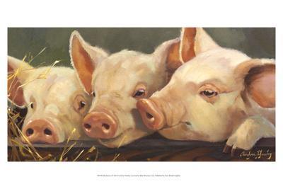 Pig Heaven-Carolyne Hawley-Art Print