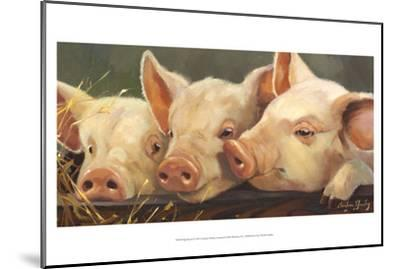 Pig Heaven-Carolyne Hawley-Mounted Art Print