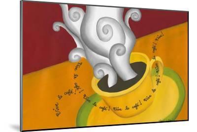 Vive le Cafe!-Renee W^ Stramel-Mounted Art Print