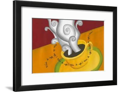 Vive le Cafe!-Renee W^ Stramel-Framed Art Print