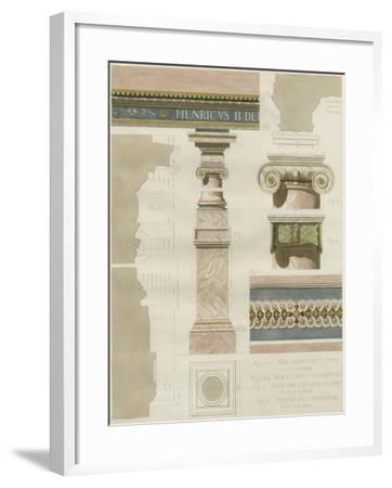 Palais de Fontainbleu I-Rod Pfnor-Framed Art Print