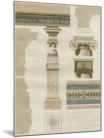 Palais de Fontainbleu I-Rod Pfnor-Mounted Art Print