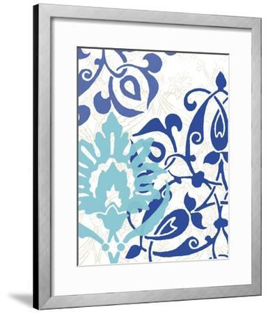 Exotic Indigo II-Erica J^ Vess-Framed Art Print