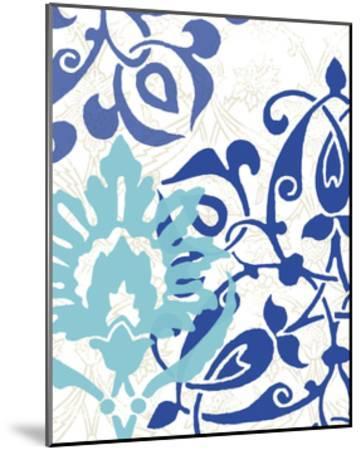 Exotic Indigo II-Erica J^ Vess-Mounted Art Print