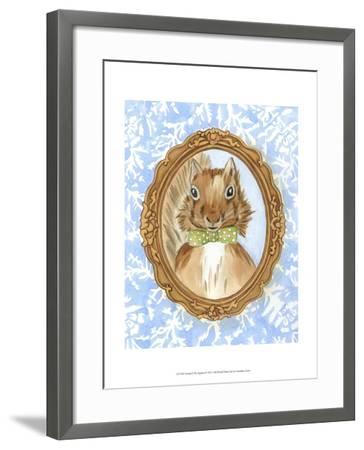 Teacher's Pet - Squirrel-Chariklia Zarris-Framed Art Print