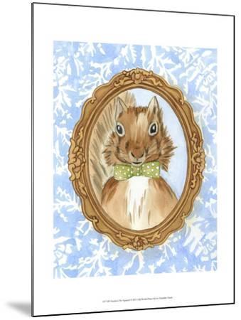 Teacher's Pet - Squirrel-Chariklia Zarris-Mounted Art Print