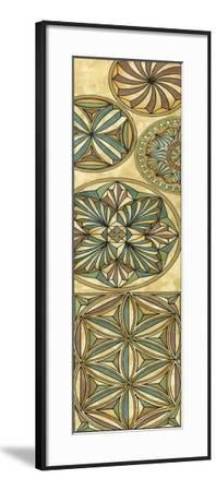 Non-Embellish Stained Glass Panel I-Vision Studio-Framed Art Print