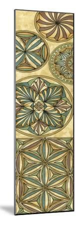 Non-Embellish Stained Glass Panel I-Vision Studio-Mounted Art Print