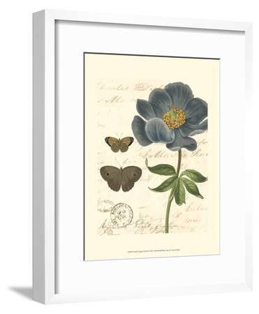 Small Vintage Floral I--Framed Art Print
