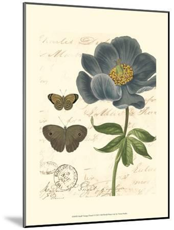 Small Vintage Floral I--Mounted Art Print