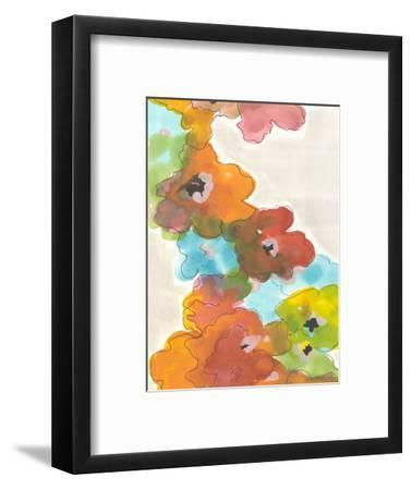 Floral Cascade II-Jodi Fuchs-Framed Art Print