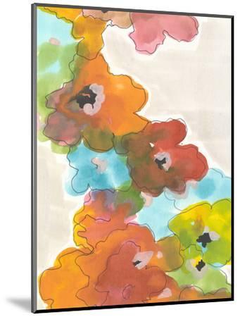 Floral Cascade II-Jodi Fuchs-Mounted Art Print