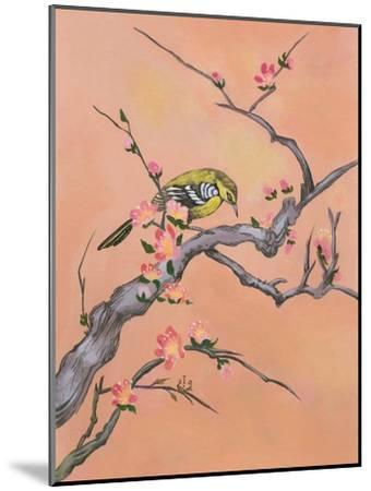 Asian Bird Illustration I-Judy Mastrangelo-Mounted Art Print