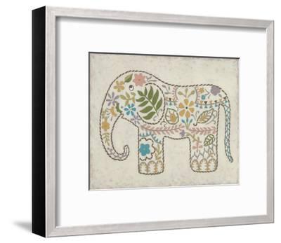 Laurel's Elephant II-Chariklia Zarris-Framed Art Print